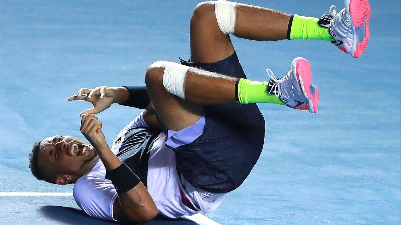 Nick Kyrgios defeats Rafal Nadal