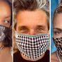 Celebrities wearing face masks to help fight coronavirus