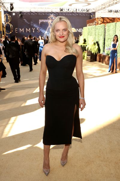 Actress Elisabeth Moss at the 70th Annual Emmy Awards