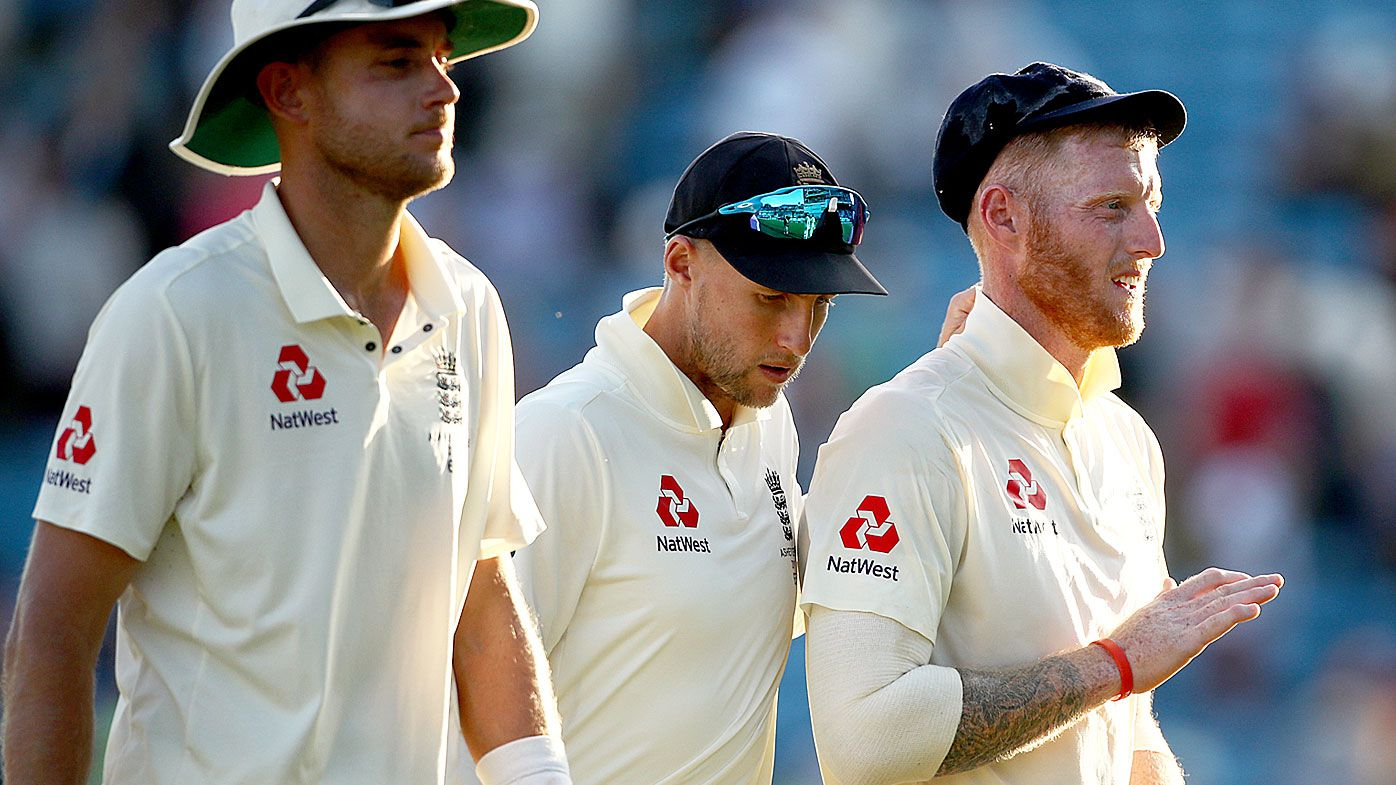 England are up against the wall on day three of the third Ashes Test