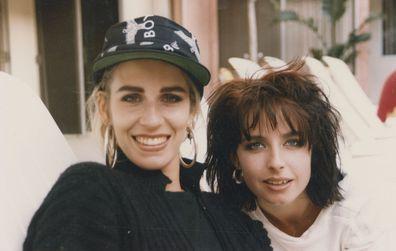 Keren Woodward and Sara Dallin from Bananarama