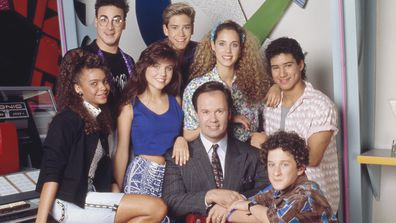 Saved By The Bell cast.