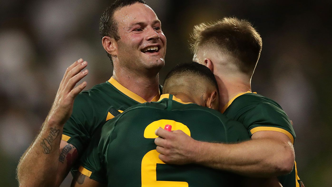 Cordner made history in the Kangaroos' win
