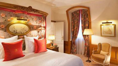 The five-star hotel opened in 2012 and is a 20-minute drive from Charles de Gaulle Airport.