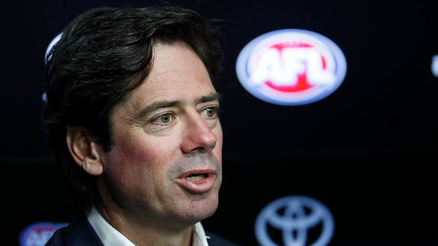 AFL CEO Gillon McLachlan impressed by virtual crowd noise in NRL's return
