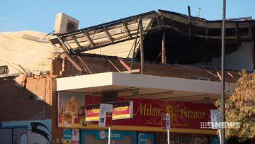 Sydney shopping complex at risk of collapse after 'fierce' fire