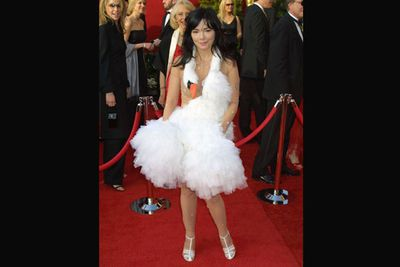 Iconic or horrific? Bjork's swan dress ruffled a few feathers back in 2001. <br/>