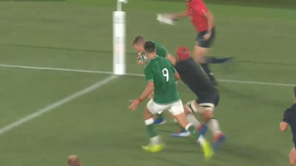 Clinical Ireland rampant in Rugby World Cup opening win over Scotland