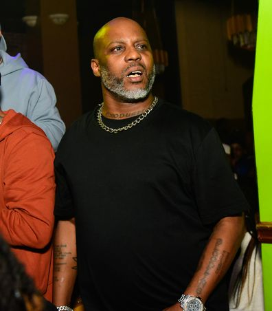 Rapper DMX, heart attack,  Elleven45 Lounge, 2021, Atlanta, Georgia.
