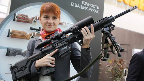 29-year-old Maria Butina has been arrested in the US, accused of acting as an agent for Russia. (Facebook).