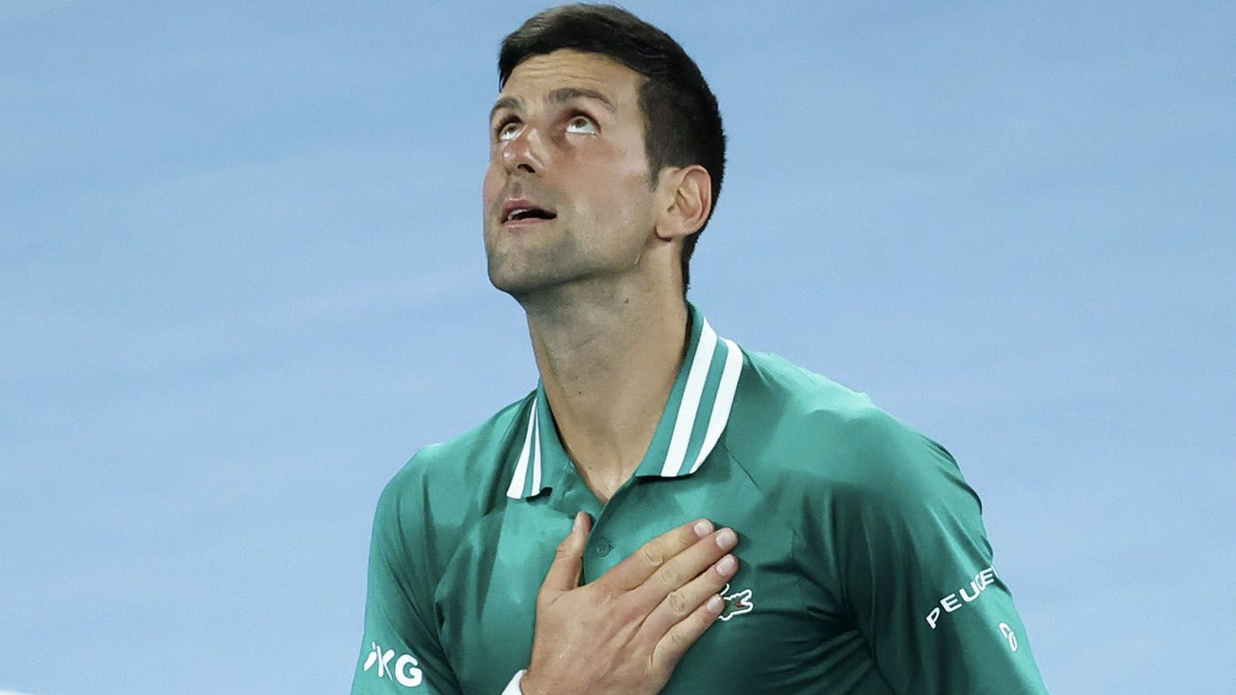 Novak Djokovic injury 'can't be that bad' says former Australian player Sam Groth