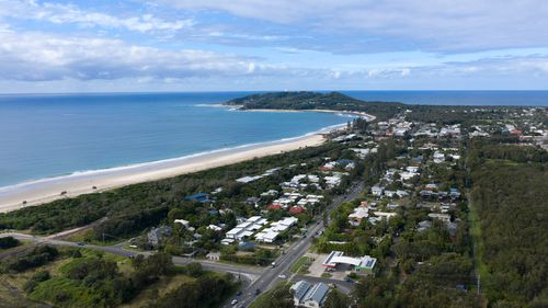 Byron Bay has been flagged as a potential exposure site after unconfirmed reports an infectious person from Queensland travelled there.