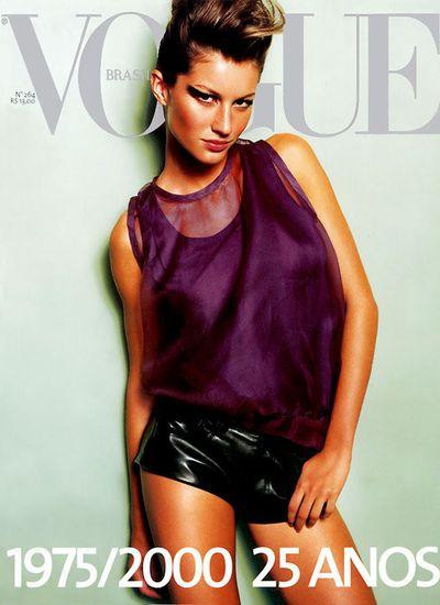 Vogue Brazil May 2000 by Mario Testino