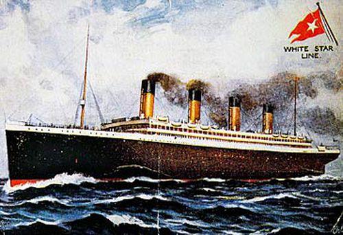 Postcard depicting RMS Titanic (Getty)