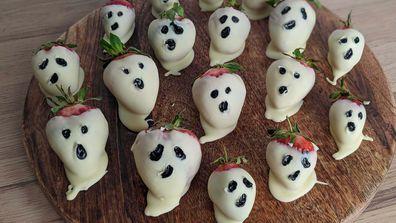 Ghostly strawberries