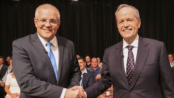 Scott Morrison and Bill Shorten have debated in Perth.