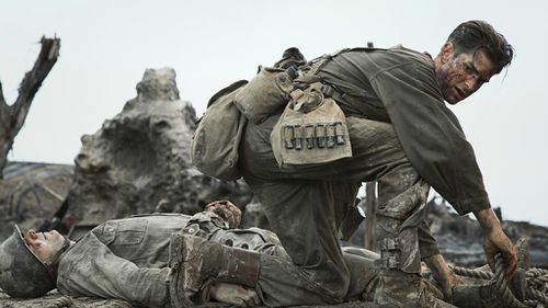 Hacksaw Ridge has received a total of six Oscar nominations. (Summit Entertainment/Icon Film Distribution)