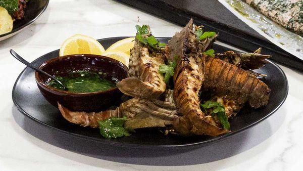 Hayden Quinn's Family Food Fight Moreton Bay bugs