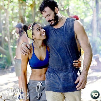 Australian Survivor: All Stars Brooke Jowett and Locky Gilbert