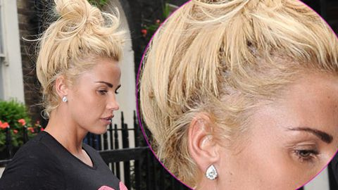 Katie Price Suing Salon After 15 000 Bleach Job Made Her Hair Fall