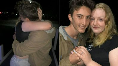 Man proposes to girlfriend after losing home in East Gippsland