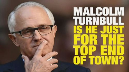 Malcolm Turnbull has been targeted in a new attack ad from Labor.