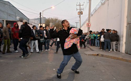 Fifty-two inmates dead in Mexico prison riot