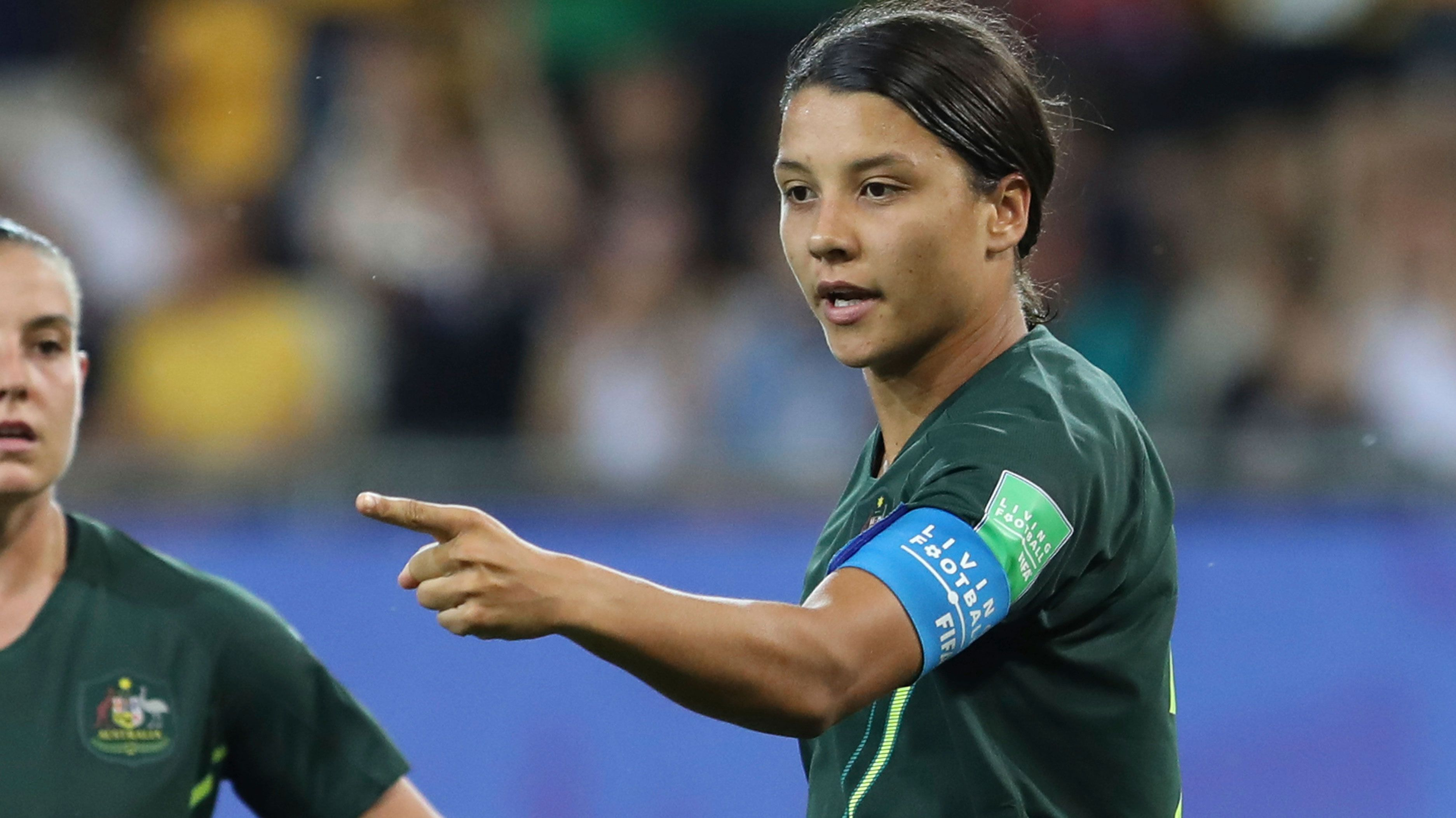 Sam Kerr reveals what inspired her four-goal performance against Jamaica