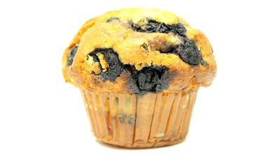 Reminder: Blueberry muffins are not health foods (unless you think 10 teaspoons of sugar is healthy)