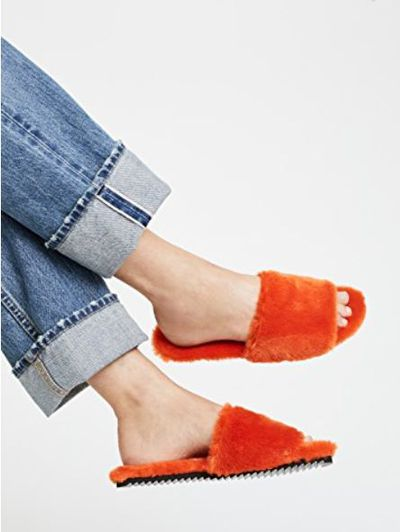 "<a href=""https://www.shopbop.com/eco-fur-slide-joshua-sanders/vp/v=1/1558237453.htm?folderID=13499&amp;fm=other-shopbysize-viewall&amp;os=false&amp;colorId=12172"" target=""_blank"">Joshua Sanders Eco Faux Fur Slides in Orange, $248.04&nbsp;</a><br /> &nbsp;<br /> <br /> <br /> <br /> <br /> <br /> <br /> <br /> <br /> <br /> <br /> <br /> <br /> <br /> <br /> <br /> <br /> <br /> <br /> <br />"
