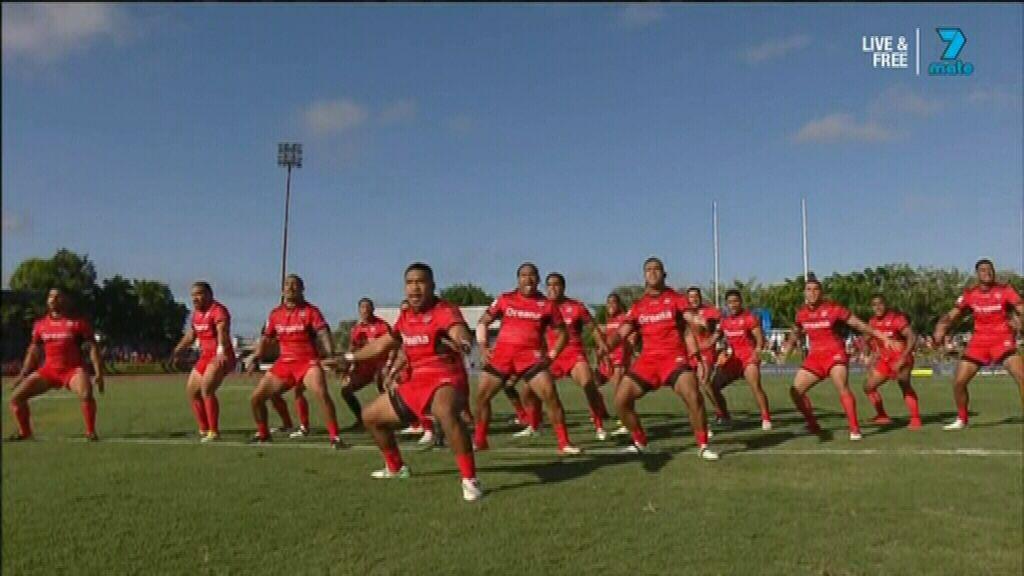 Tonga performs emotional Sipi Tau
