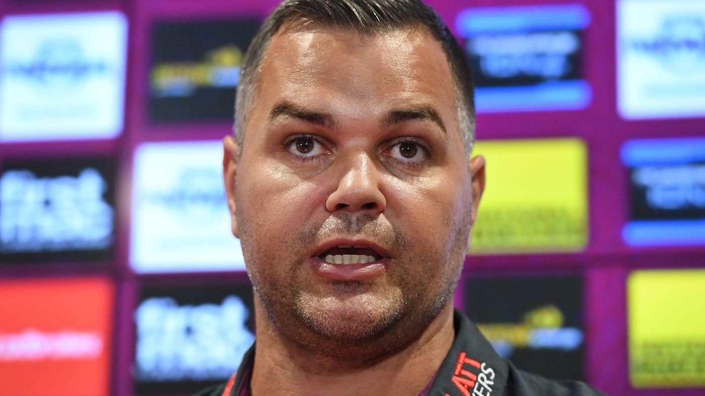 Brisbane coach Anthony Siebold calm despite disaster start for Broncos