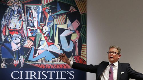 Picasso painting breaks auction record at $179.3m‏