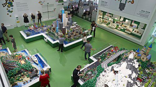 The building was designed by architect Bjarke Ingels. (Lego)