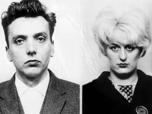 The 'Moors Murderers' - Ian Brady and Myra Hindley.