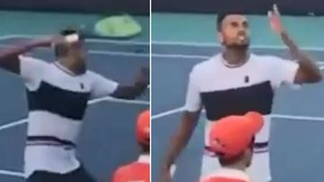'Foul-mouthed little brat': Kyrgios slammed for on-court rant