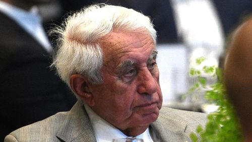 Property giant Harry Triguboff came in at second with a $12.77 billion value. Picture: AAP.