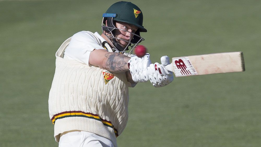 Australian wicketkeeper Matthew Wade fails again as Tasmania crumble in Sheffield Shield