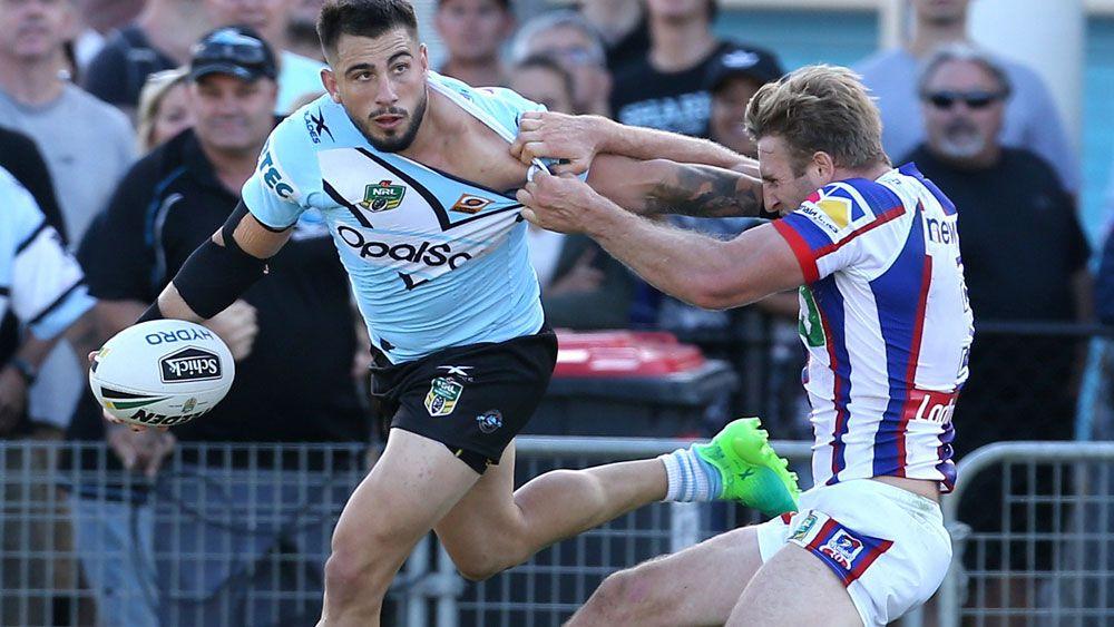 Brisbane have set their sights on Cronulla star Jack Bird. (AAP)