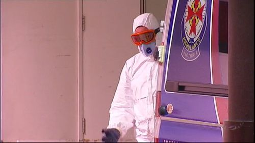 A patient with Ebola-like symptoms has been cleared of the virus at the Royal Melbourne Hospital. (9NEWS)