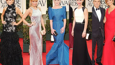 Best and worst Golden Globes frocks 2012