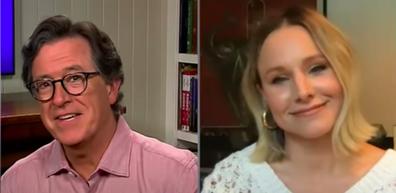 Stephen Colbert, Kristen Bell