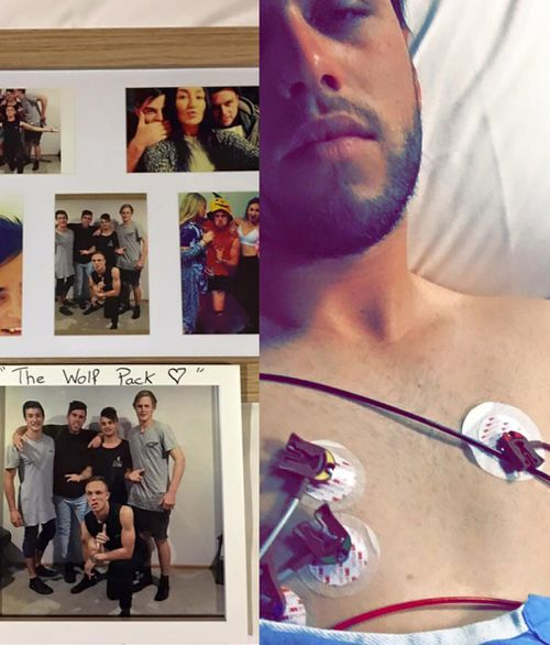 The Victorian man says his illness has impacted on his friends and family as well. (Facebook)
