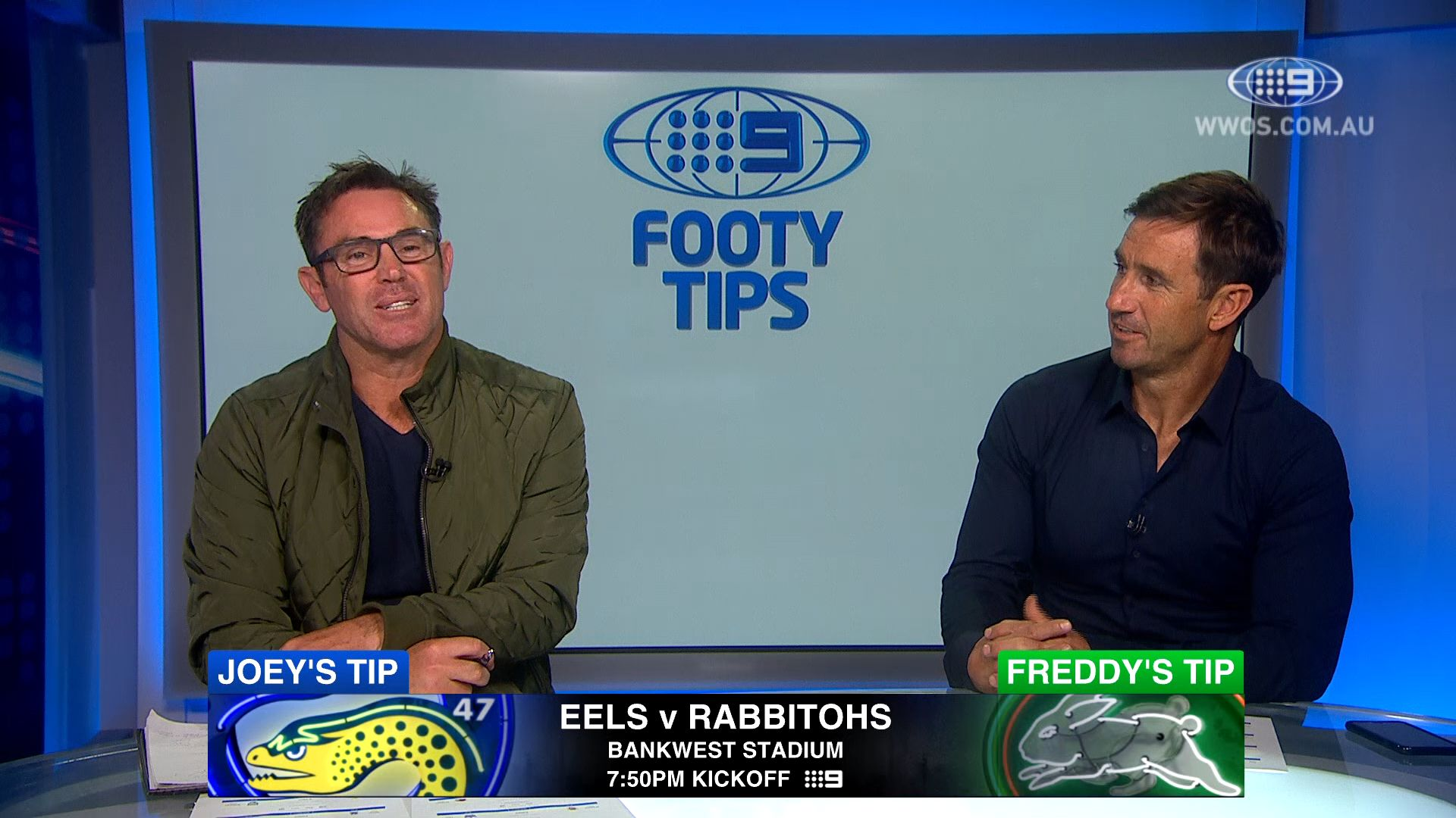 NRL footy tips Round 16: Freddy, Joey and Channel Nine's stars give their winners