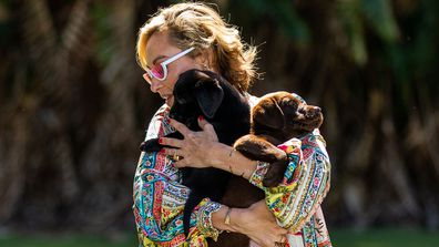 Celebrity Apprentice Australia 2021 Camilla Franks puppies