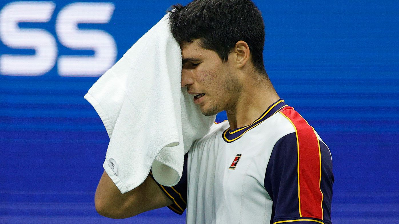 Carlos Alcaraz's dream run at the US Open came to an unfortunate end through injury.