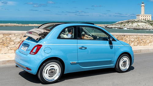 Fiat 500 Spiaggina 58 Brings A Taste Of The Italian Riviera To