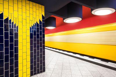 <strong>Berlin: Richard-Wagner-Platz station</strong>