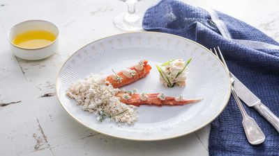 <strong>Sun Princess Share by Curtis Stone - roasted crab legs&nbsp;</strong>