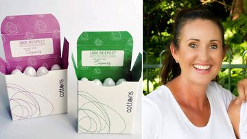 A Brisbane woman behind a charity committed to providing women in need with personal hygiene products says no woman should ever be forced to go without. (Share the Dignity)
